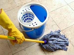 Boden richtig reinigen