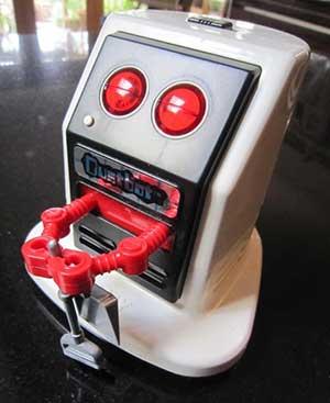 Dustbot Saugroboter aus dem Jahr 1985