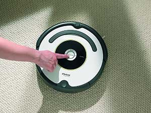iRobot Roomba 620 in Betrieb nehmen