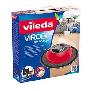 Verpackung des Vileda Wischroboters