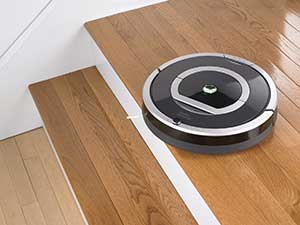 Der Roomba 780 im Einsatz