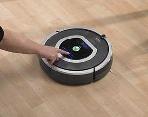 Der iRobot Roomba 780 Staubsaugroboter