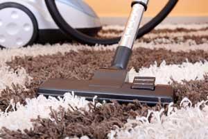 Teppich gründlich saugen