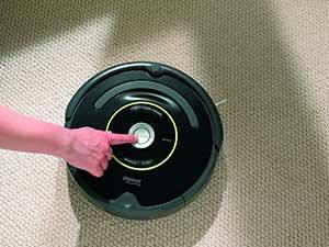 Handhabung des iRobot Roomba 650